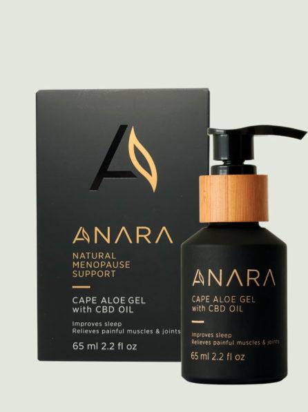 Anara Cape Aloe Gel With CBD Oil